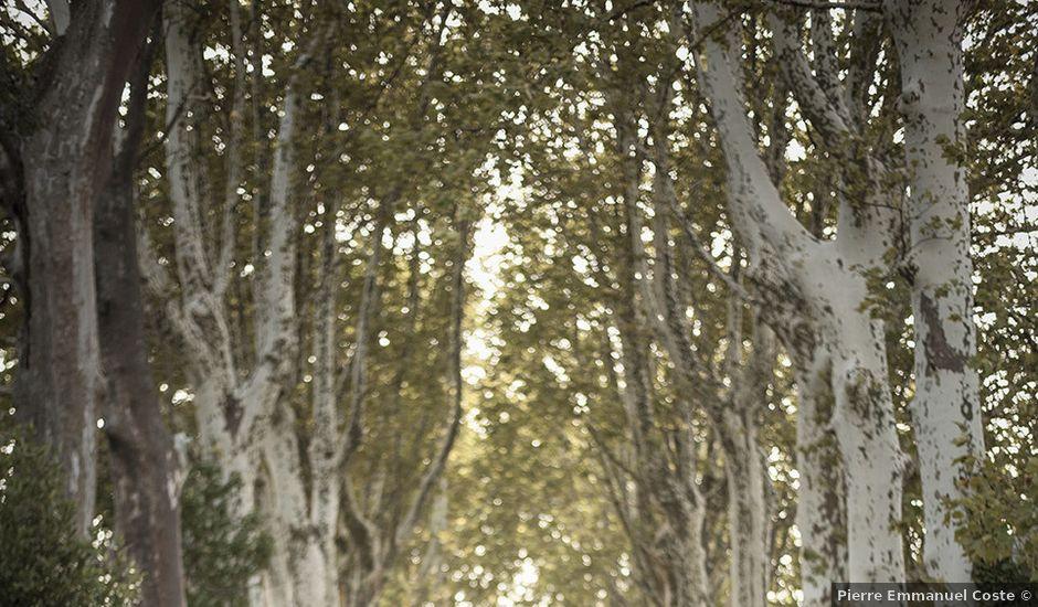 Le mariage de Thomas et Marion à Milhaud, Gard