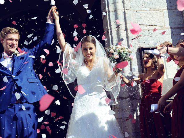 Le mariage de Gerben et Julie à Villersexel, Haute-Saône 17