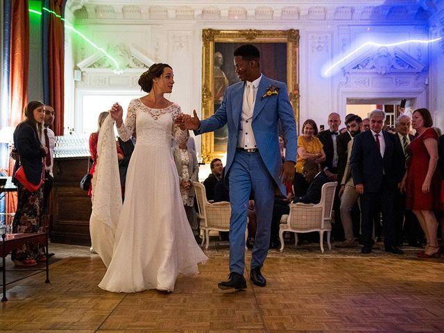 Le mariage de Ananivi et Marie-Caroline à Chaunay, Vienne 52