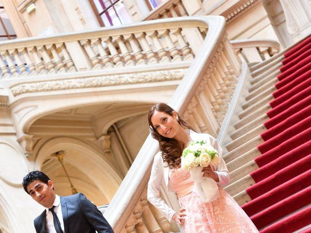 Le mariage de Samuel et Caroline à Paris, Paris 5
