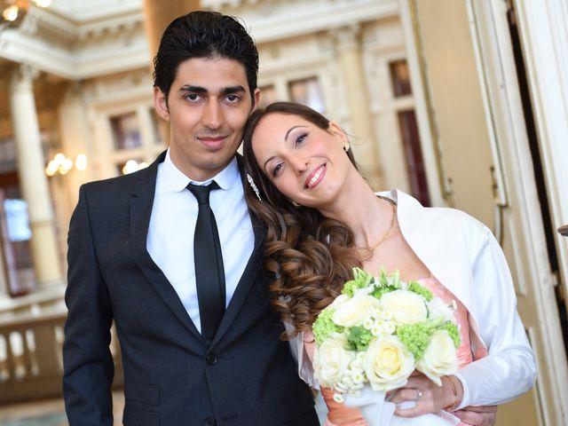 Le mariage de Samuel et Caroline à Paris, Paris 8