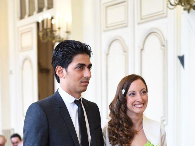 Le mariage de Samuel et Caroline à Paris, Paris 9