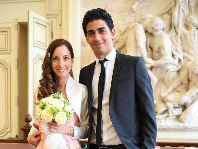 Le mariage de Samuel et Caroline à Paris, Paris 16