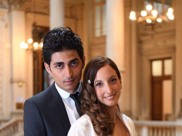 Le mariage de Samuel et Caroline à Paris, Paris 19