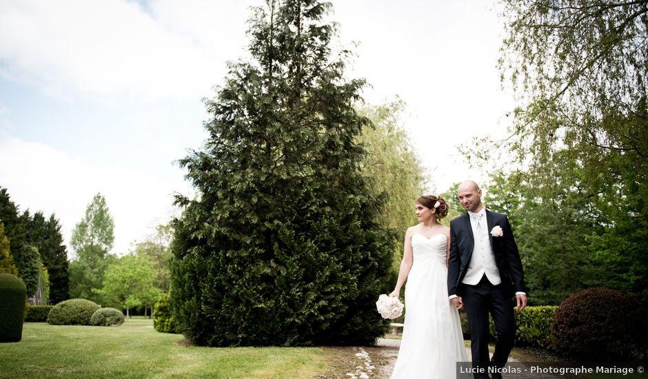Le mariage de Mathieu et Lucille à Bruyères-et-Montbérault, Aisne