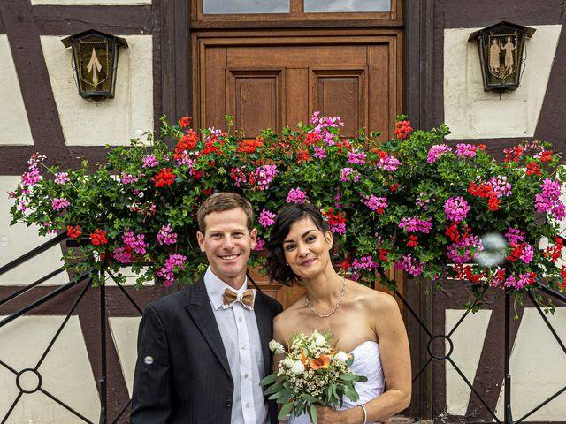 Le mariage de Jeremy et Jessica à Gambsheim, Bas Rhin 6
