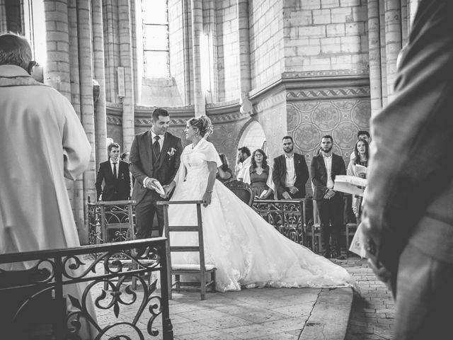 Le mariage de Mickaël et Alexia à Le Vieil-Baugé, Maine et Loire 22