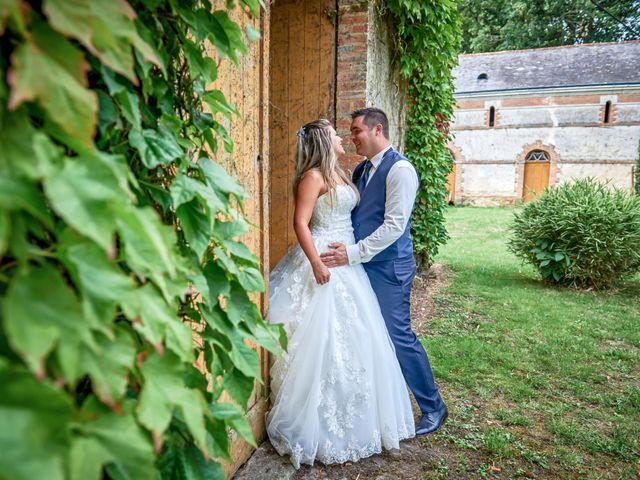 Le mariage de Mickaël et Alexia à Le Vieil-Baugé, Maine et Loire 61