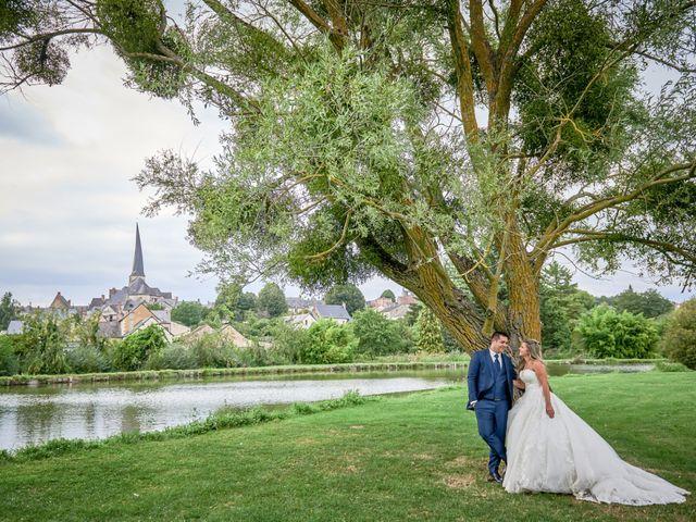 Le mariage de Mickaël et Alexia à Le Vieil-Baugé, Maine et Loire 78