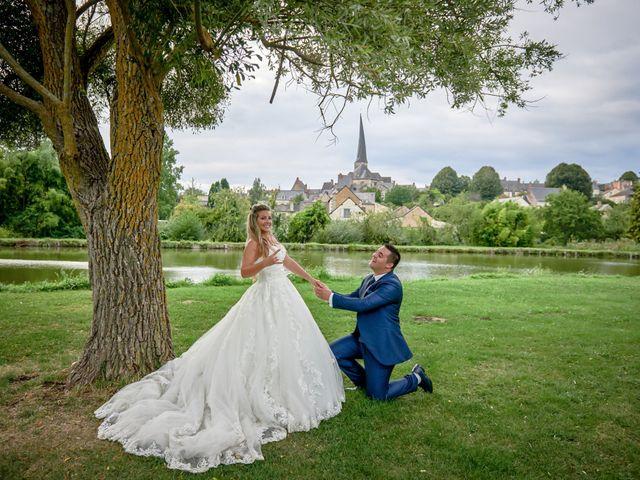 Le mariage de Mickaël et Alexia à Le Vieil-Baugé, Maine et Loire 79