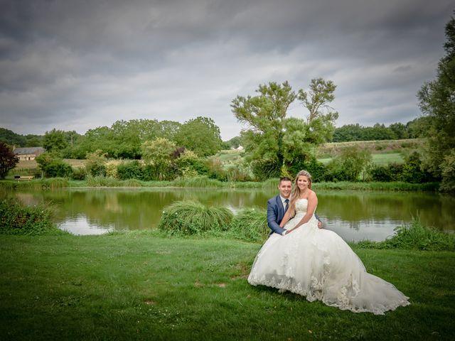 Le mariage de Mickaël et Alexia à Le Vieil-Baugé, Maine et Loire 80