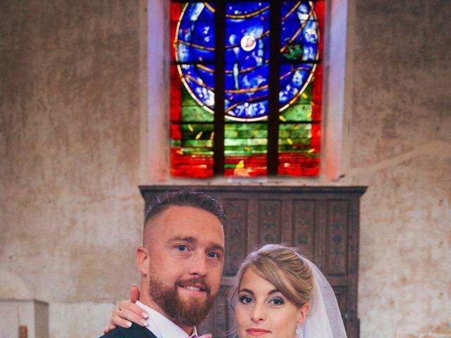 Le mariage de David et Angie à Changé, Sarthe 11