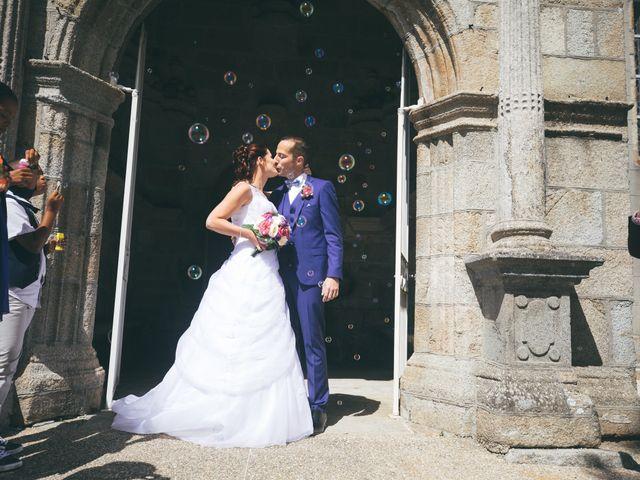 Le mariage de Magali et Trevor à Plabennec, Finistère 15