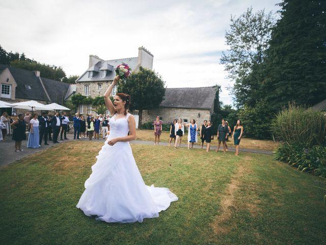 Le mariage de Magali et Trevor à Plabennec, Finistère 40