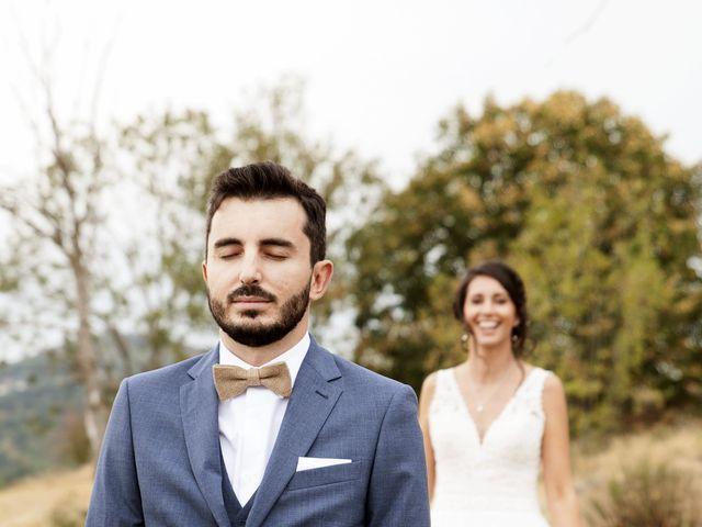Le mariage de Florian et Mathilde à Lézigneux, Loire 12