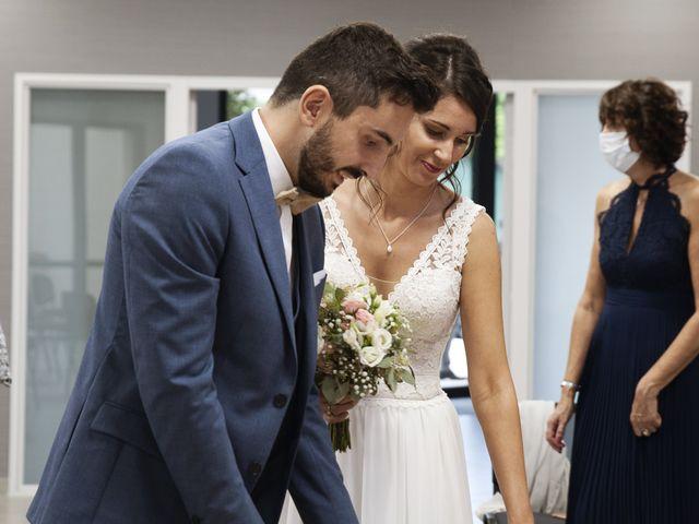 Le mariage de Florian et Mathilde à Lézigneux, Loire 21