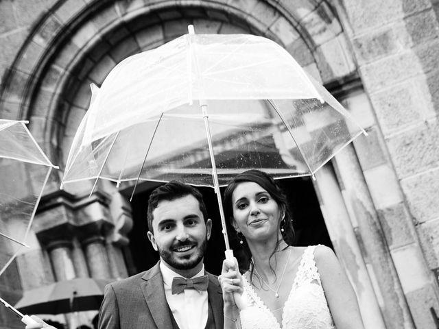 Le mariage de Florian et Mathilde à Lézigneux, Loire 30