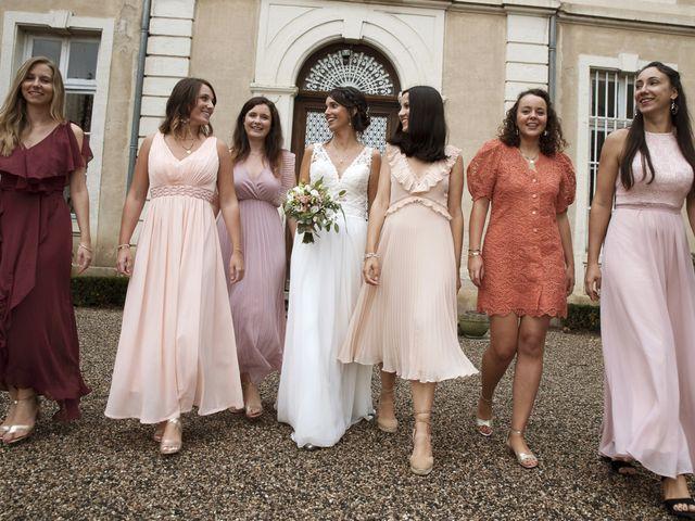 Le mariage de Florian et Mathilde à Lézigneux, Loire 34