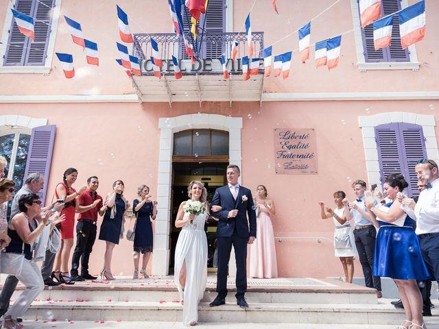 Le mariage de Florian et Elody à Le Cannet-des-Maures, Var 16