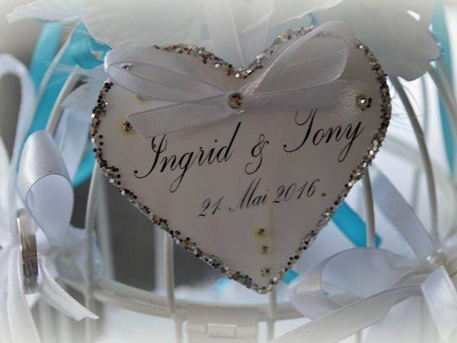 Le mariage de Tony et Ingrid à La Flamengrie, Aisne 4