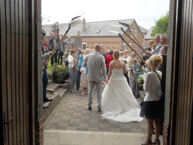 Le mariage de Tony et Ingrid à La Flamengrie, Aisne 34