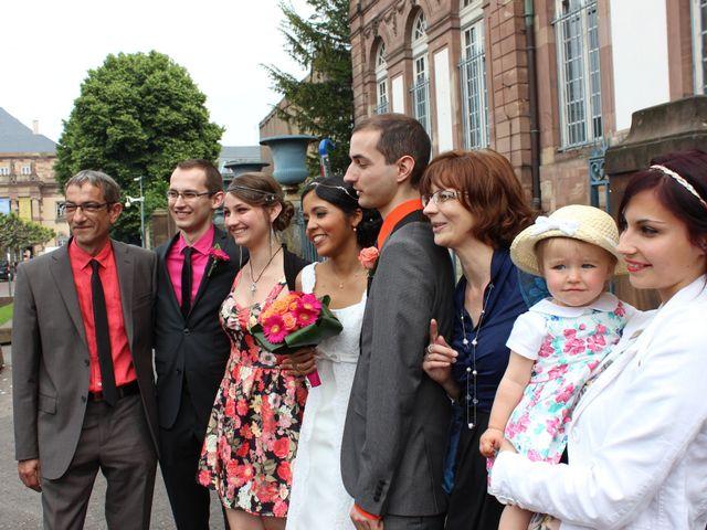 Le mariage de Kévin et Anaïs à Strasbourg, Bas Rhin 15
