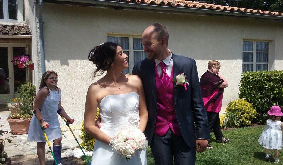 Le mariage de Sébastien et Céline à Salignac, Gironde