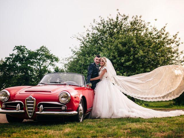 Le mariage de Yann et Hortense à Questembert, Morbihan 91