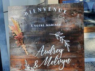 Le mariage de Audrey  et Melvyn 3