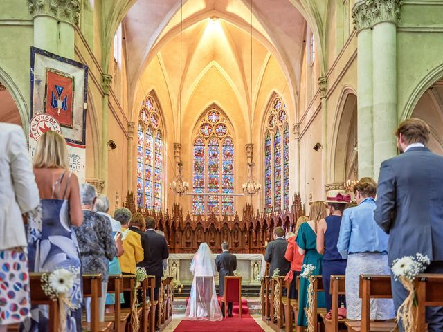 Le mariage de Pierre et Marie-Alix à Écommoy, Sarthe 7