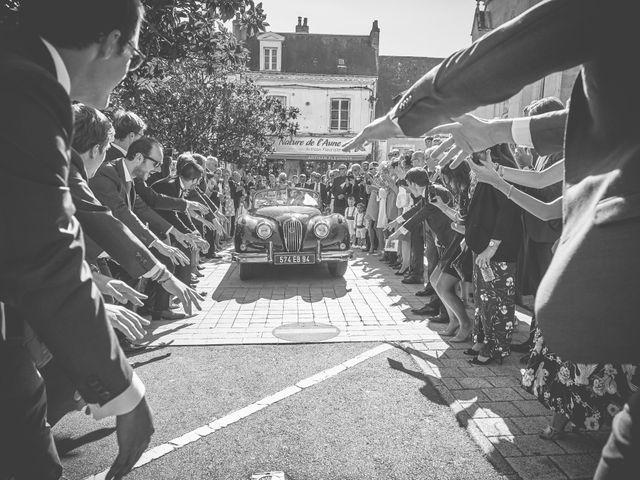Le mariage de Pierre et Marie-Alix à Écommoy, Sarthe 15