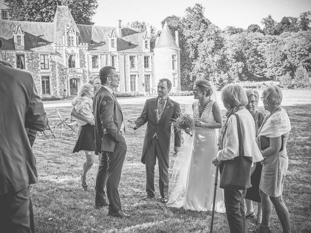 Le mariage de Pierre et Marie-Alix à Écommoy, Sarthe 20