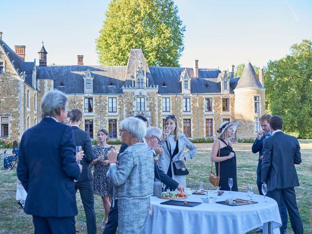 Le mariage de Pierre et Marie-Alix à Écommoy, Sarthe 32