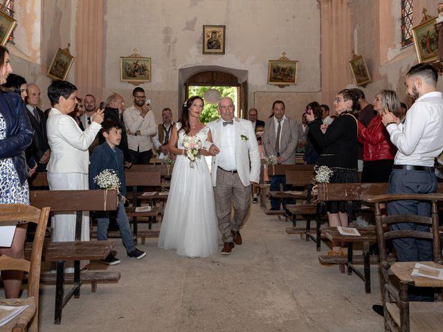 Le mariage de Basile et Nathalie à Sérempuy, Gers 13
