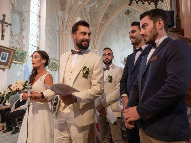 Le mariage de Basile et Nathalie à Sérempuy, Gers 14