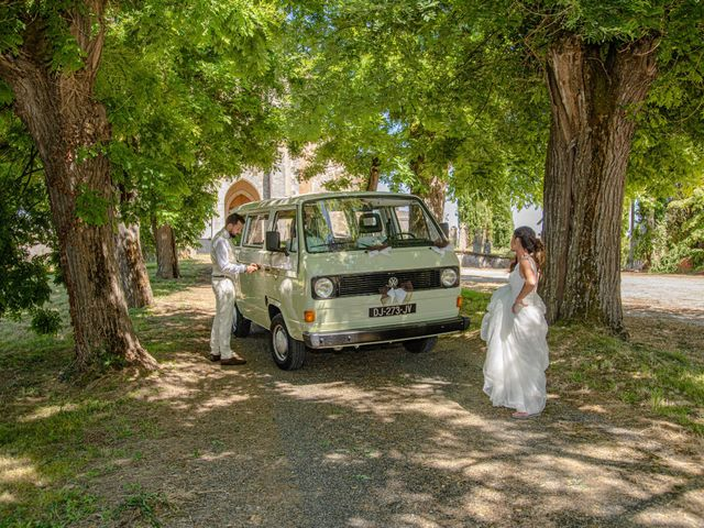 Le mariage de Basile et Nathalie à Sérempuy, Gers 26