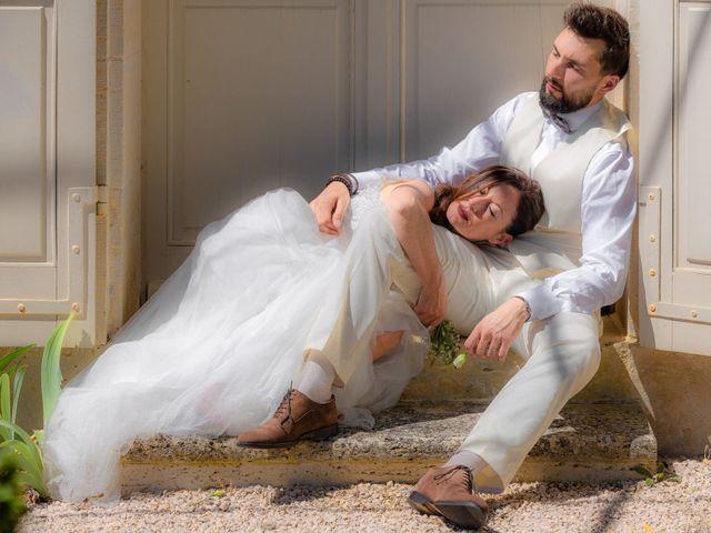 Le mariage de Basile et Nathalie à Sérempuy, Gers 1