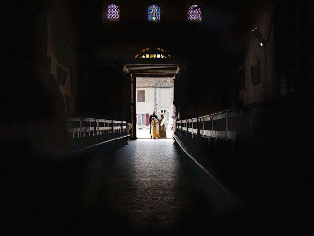 Le mariage de Guillaume et Diane à Beaulieu-sur-Loire, Loiret 14