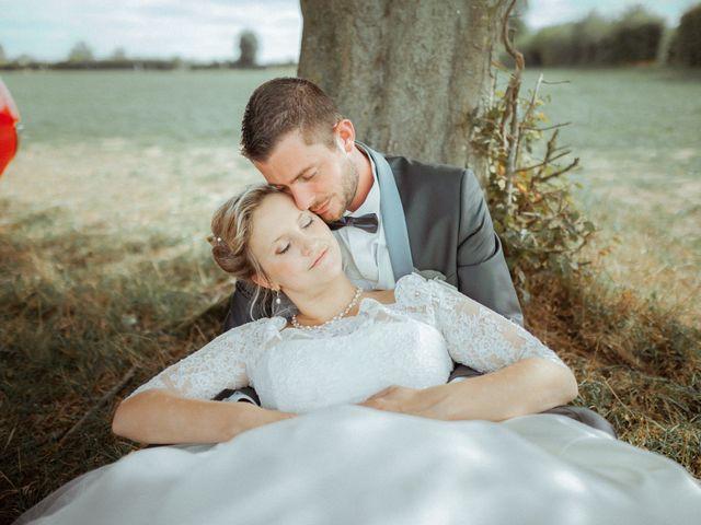 Le mariage de Romain et Johanie à Pommereuil, Nord 7