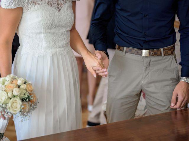 Le mariage de Giovanni et Lucie à Avensan, Gironde 12