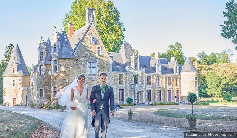 Le mariage de Pierre et Marie-Alix à Écommoy, Sarthe