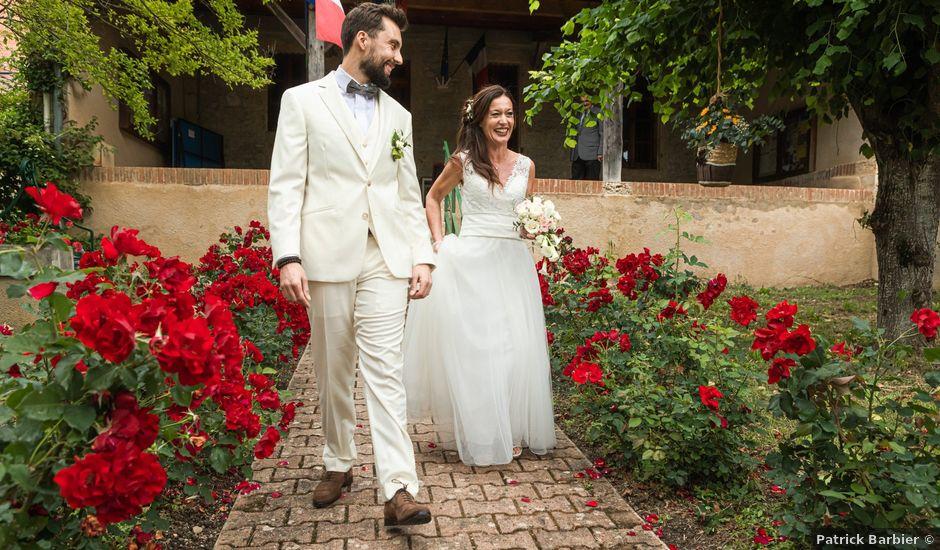 Le mariage de Basile et Nathalie à Sérempuy, Gers