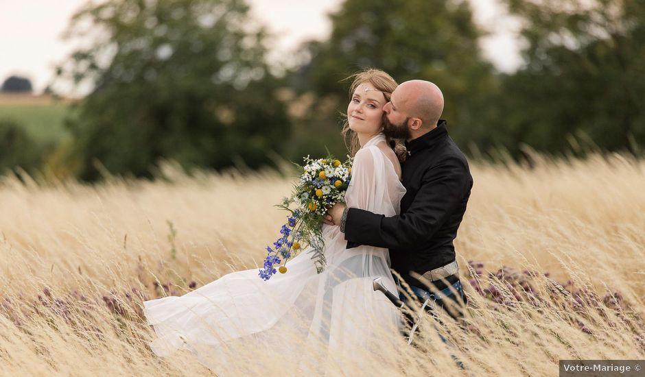Le mariage de Guillaume et Diane à Beaulieu-sur-Loire, Loiret