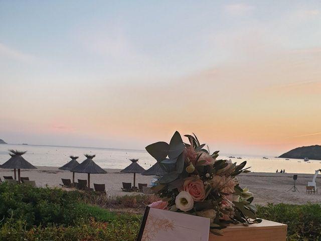 Le mariage de Julie et Alain à Piana, Corse 10