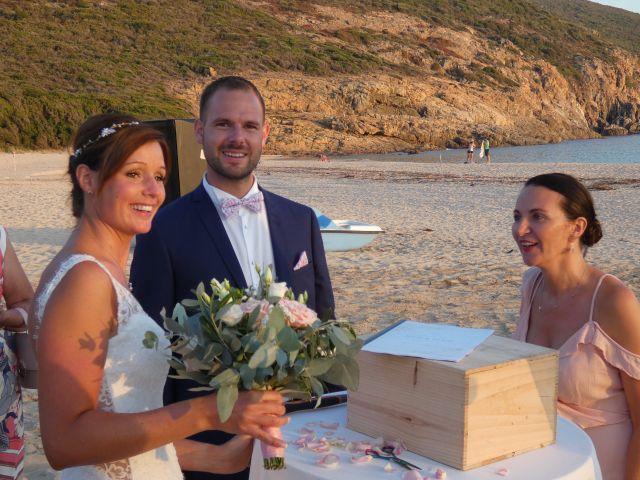 Le mariage de Julie et Alain à Piana, Corse 32