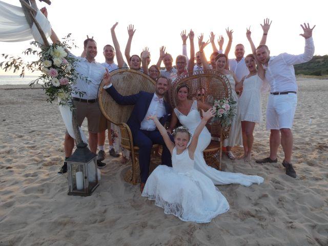 Le mariage de Julie et Alain à Piana, Corse 35