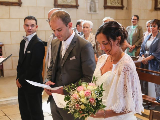 Le mariage de Samuel et Myriam à La Villedieu-du-Clain, Vienne 22