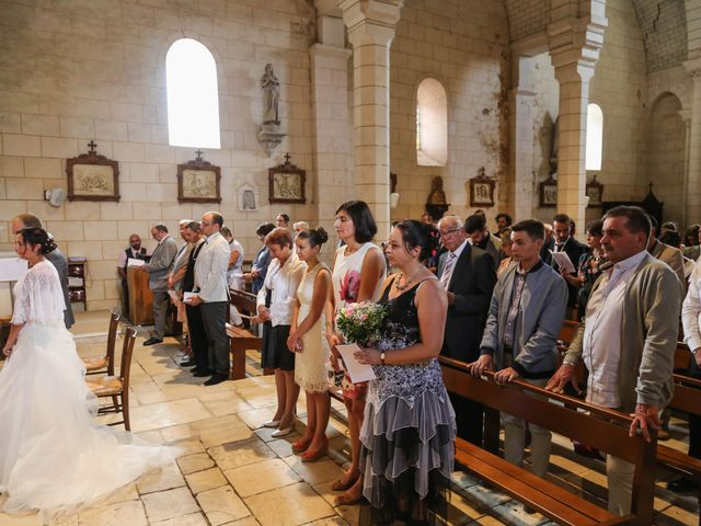 Le mariage de Samuel et Myriam à La Villedieu-du-Clain, Vienne 36