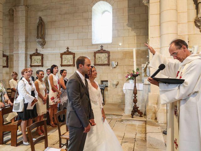 Le mariage de Samuel et Myriam à La Villedieu-du-Clain, Vienne 37