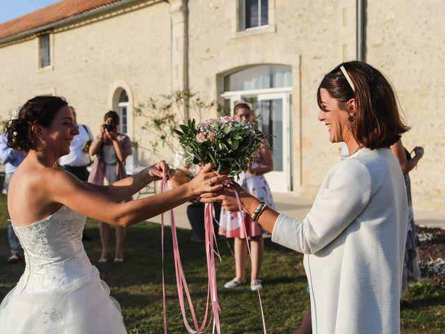 Le mariage de Samuel et Myriam à La Villedieu-du-Clain, Vienne 83